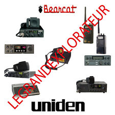 Ultimate Uniden Bearcat Operation Repair Service manual   340 PDF manuals on DVD