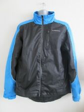 Muddyfox Cycle Jacket Rain Blue Black Reflector  uk large 42-44