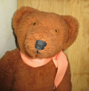 """VINTAGE CARROUSEL BY MICHAUD HANDCRAFTED CLASSIC 19"""" JOINTED TEDDY BEAR"""