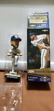 Jim Henderson 2014 Milwaukee Brewers Bobblehead NIB