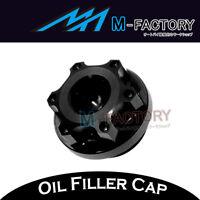 Black CNC Billet Oil Filler Cap Plug Fit Yamaha YZF R3 2015-2017 15 16 17