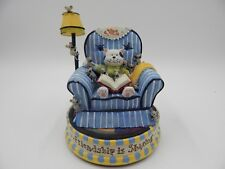 "Cat Mouse Music Box San Francisco Music Box Company ""Friendship is Sharing"""