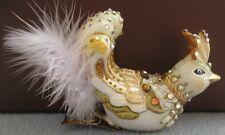 Jay Strongwater Jewel Exotic Bird Clip Ornament Swarovski Elements New in Box