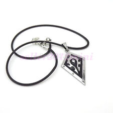 """WOW World of Warcraft Horde Symbol Necklace Pendant Free 22"""" Black Chain"""