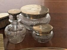 Shreve & Co., San Francisco, Sterling, Art Deco, 21 Piece Vanity Set, Beautiful