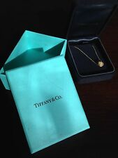 Tiffany & Co Twist Knot Pendant Necklace 18k Gold RRP £645