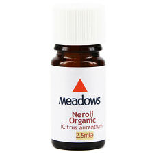 Organic Neroli Essential Oil (Meadows Aroma) 2.5ml