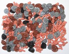 TIMPO TOYS   200 Ersatzteile Cowboy  Hüte und  Köpfe