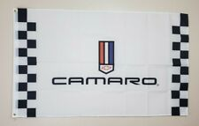 Chevrolet Chevy Camaro Banner 3x5 Ft Flag Garage Shop Wall Decor Nascar Racing