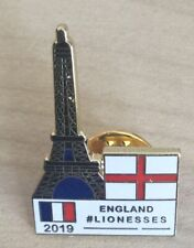 ENGLAND LIONESSES ON TOUR WOMENS FOOTBALL WORLD CUP FRANCE 2019 ENAMEL PIN BADGE