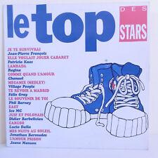 """33T LE TOP DES STARS Vinyle LP 12"""" J.P. FRANCOIS KAAS REGINA GRAY CHANAEL MANSON"""