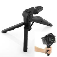 Hot New Flexible 2 in 1 Handheld Grip Mini Tripod Stand for Canon Camera