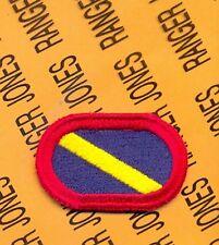 Co G 143rd Infantry Det TX ARNG LRSD Airborne Ranger para oval patch #3 c/e