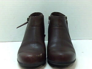 Clarks Womens valarie sofia Almond Toe Ankle Fashion Boots, Brown, Size 8.5 IOZm