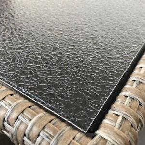 Tischfolie Tischdecke Schutzfolie mit Muster 1mm Transparent Klar Weich-PVC (18)
