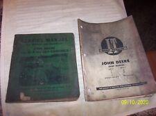 """Vintage John Deere """" 11A """" - """" 12A """" Combine Manuel - Plus Manual"""