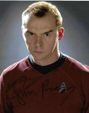 Star Trek - Simon Pegg signed photograph *Scotty*
