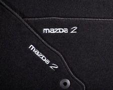 Original Mazda 2 DE Velour Fußmatten Luxury Ausführung DF73V0320B