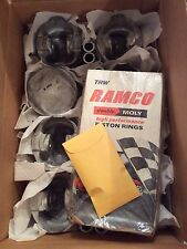 NOS Holman-Moody TRW Boss 429 NASCAR forged pistons & pins-retainers-rings! Std!