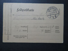 Germany 1915 Baden-Baden Feldpost Card  - Z10622