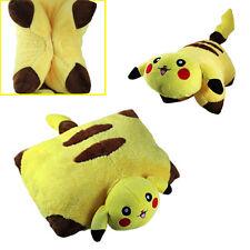 Cute ! Pokemon Pikachu Pet Pillow Transforming Cushion Soft Bright Yellow