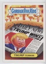 2017 Topps Garbage Pail Kids Adam-Geddon Nuclear Sticker #3b Trump Terror v3k