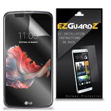 4X EZguardz LCD Screen Protector Skin Cover Shield HD 4X For LG K10 (Clear)
