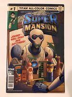 SuperMansion #1 CVR A Titan Comic 1st Print 2018 unread NM