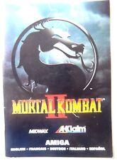 59663 Instruction Booklet - Mortal Kombat II - Commodore Amiga (1993)