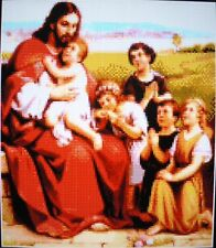 THE CHILDREN (AND JESUS) ~ NEW Counted Cross Stitch KIT ~ #ML198