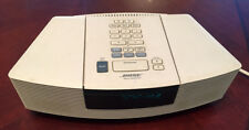 Bose Wave AWRC-1P Stereo CD AM/FM Radio Alarm Clock SOUNDS GREAT! (mostly) works