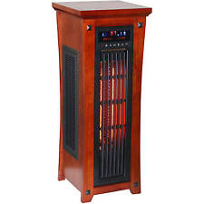 Infrared Quartz Portable Electric Tower Space Heater with Remote 1500 Watts NEW