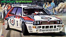 Hasegawa CR15 Lancia Super Delta 1992 WRC Makes Champion 1/24 scale kit