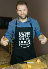 Everyday Superhero Funny Apron for Your Dad, Brother or Grandfather by ApronMen