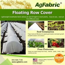 Agfabric Row Cover Plant Blanket 0.9oz Fabric7x100ft Frost Protection warm