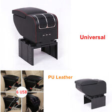 Universal Car Charger Central Container Armrest Box Storage Case Convenience Kit