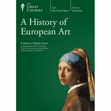 A History of European Art part 1 - 4 8 discs with booklets  the Great Courses