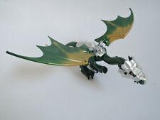 Lego oscuro dragón verde Dragon 03 grande plata armadura 7048