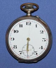 Antique Art Deco Silver 0.800 Swiss pocket watch