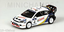 MINICHAMPS 400 038374 Ford Focus RS WRC n°4 Winner Acropolis Rally 2003 1/43