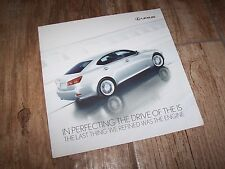Catalogue / Brochure LEXUS IS 201?  //
