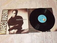 """MARCO MASINI """"MALINCONOIA"""" LP RICORDI Ita 1991"""