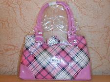 petit sac à main écossais rose - neuf