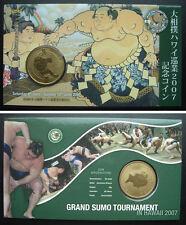 Tuvalu Coin Grand Sumo Tournament 2007 UNC