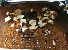 "Sabian Neil Peart poster ( 24 by 36"")"
