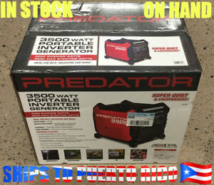 Predator 3500 Inverter Generator - Super Quiet - On Hand - SHIPS TO PUERTO RICO