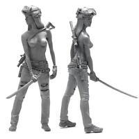 1:35 American Navy Seals Harz weiblichen Soldat + Gewehr Modell FigurenHandwerk