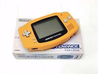Nintendo Gameboy Advance GBA AGS-001 Orange Handheld Gaming Console - FAST POST