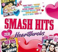SMASH HITS HEARTTHROBS  2 CD (New Release 23rd June 2017)