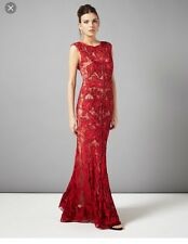 NWT PHASE EIGHT COLLECTION 8 PAIGE  TAPEWORK EMBELLISHED  EVENING DRESS  18